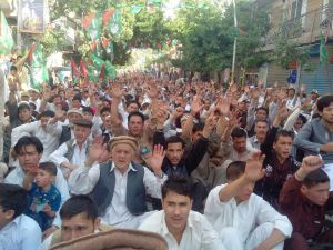 A view of MWM supporters on the same day