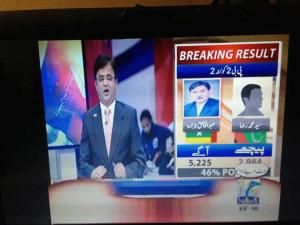 Khaliqs Lead over Syed Raza