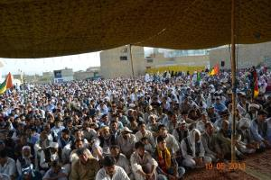 A View Of Hazara Town Jalsa After Election