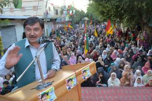 Women also present in the Jalsa called by HDP on 17th May on Alamdar Road